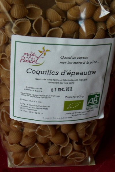 Coquilles d'Epeautre Bio 500gr
